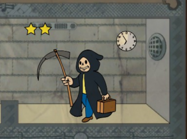 Less Obnoxious and Quieter Grim Reaper's Sprint and Four Leaf Clover Perk sound effects in VATS.