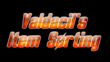 Valdacils Item Sorting