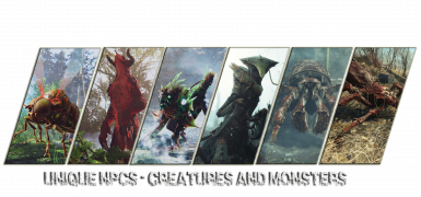 Unique NPCs - Creatures and Monsters of the Commonwealth