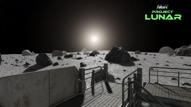 View from Moon Base Beta