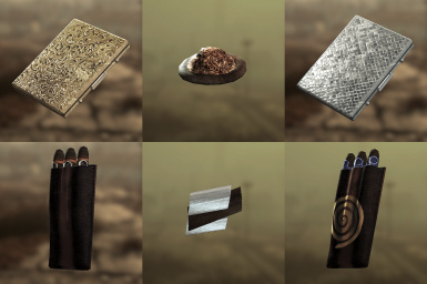 Cigar and Cigarette Packs (Smokable)