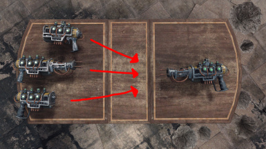 Uncraftable Weapon Mods