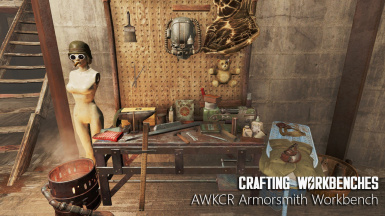 AWKCR Armorsmith Workbench