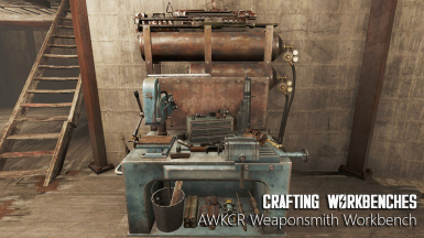 AWKCR Weaponsmith Workbench