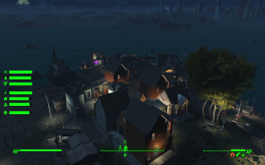Upscale Housing at Spectacle Island