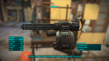 Minigun Before