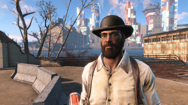 Oxhorn Settler at Fallout 4 Nexus - Mods and community Fallout 4 Nexus