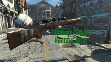 Classic Styled Hunting Rifle