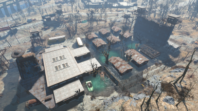 horror at the prison camp starlight drive in overhaul at fallout 4