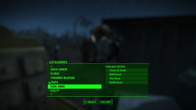 Ammo Available Chem Station
