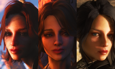 Agemo's Gorgeous heroines - replace Cait Curie and Piper.