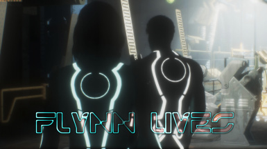 Flynn Lives - Tron Grid Suits
