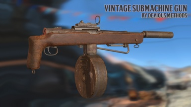 Vintage Submachine Gun (1.3.4)