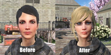 Curie before and after
