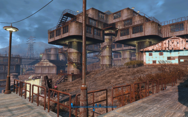 Onyx Nightshade's Settlements - Sanctuary Blueprint