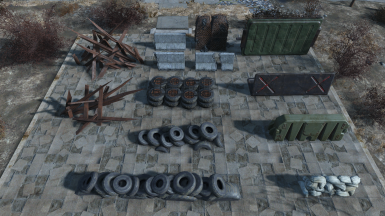 Buildable Barricades and Guard Posts