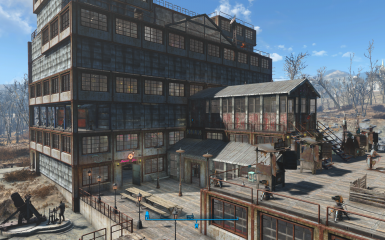Onyx Nightshade's Settlements - Starlight Drive In Blueprint
