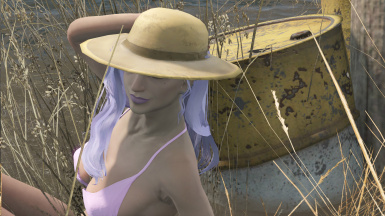 Zella Classic with a hat