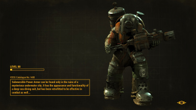 Submersible Power Armor Redux - BioShock Inspired at Fallout
