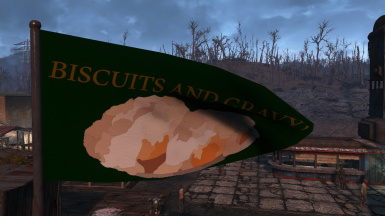 Biscuits and gravy flag - A someguy annoyance mod