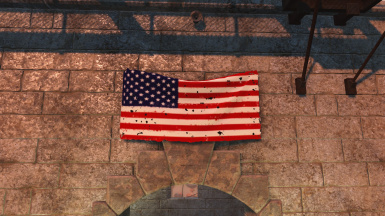 American Flag Retextured