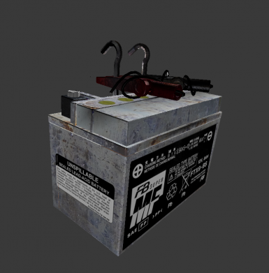 Car Battery Fusion Core Retexture And Model At Fallout 4