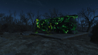 Glowing Bus Farm
