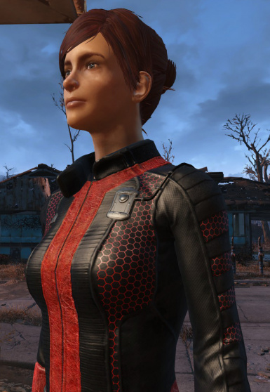 Black and Red Vaultsuit
