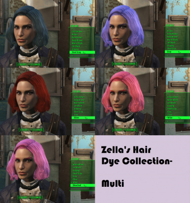Multi hair color 2 of 2