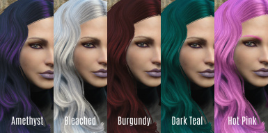 Zella's Hair Dye Collection