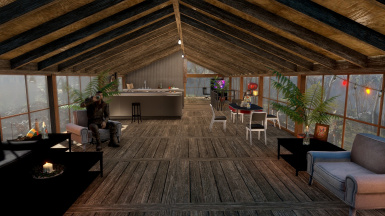 Player home living room and kitchen WIP