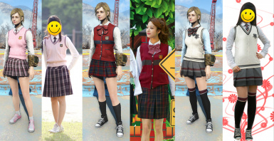 School uniform 1 Daejin 2 Kaywon 3 Segeuru