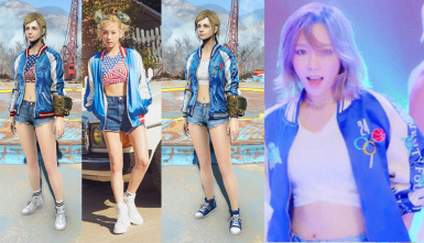 Costume Taeyeon Why MV