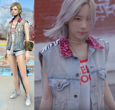 Costume Taeyeon Starlight MV