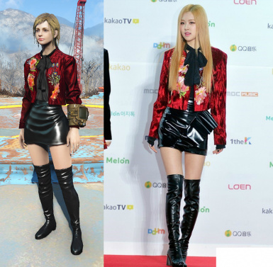 Costume BLACKPINK Rose  2016 Melon Music Awards