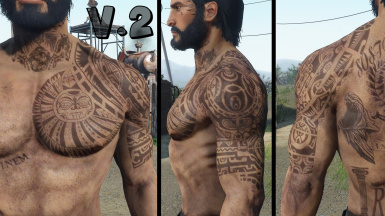 The Rock Tattoo Looksmenu And Unique Player Versions At