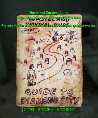 Wasteland Survival Guide 5 - More Map Markers