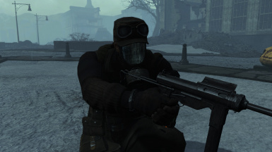 Metro Gas Masks in FROST