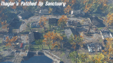 Thaylars patched up sanctuary blueprint vanilla dlc at fallout 4 thaylars patched up sanctuary blueprint vanilla dlc malvernweather Images