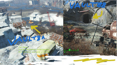 Vault 81 and 88 Entrace Exchange