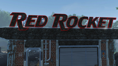 Red Rocket Sign