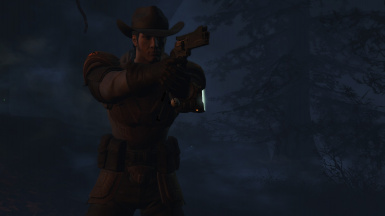 Ranger in the wilds of FAR HARBOR