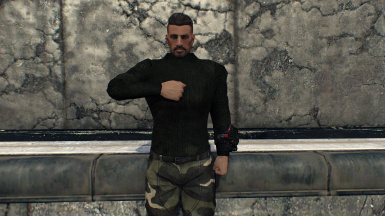 Female Tactical Armor Male Addon