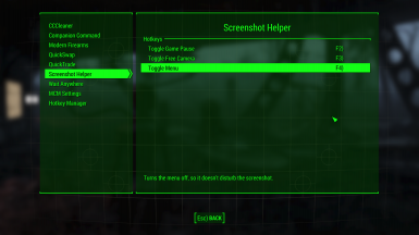 Screenshot Helper Hotkeys (MCM)