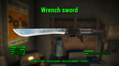 Wrench Sword