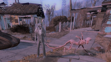 PinkDogmeat and companion