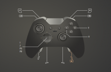 Change Fallout 4 PC controller bindings