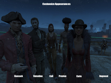 CustomizeCompanions