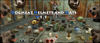 Dogmeat Helmets and Hats