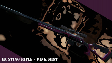 Hunting Rifle - Pink Mist